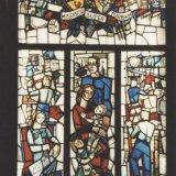 Overzicht Glas-in-loodraam 'Ons Limburg', 1951 door Jérôme Goffin
