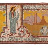 Vlag RK Mijnwerkersbond afdeling Eys-Wittem