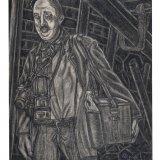 Houtskooltekening 'schiethouwer'
