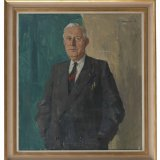 Portret van Ingenieur C.E.P.M. Raedts, Petran Vermeulen