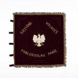Velours vaandel van de Poolse Vereniging Brunssum, Wzajemna Pomc (Elkanders Hulp)