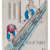 Affiche 'Samen gaat het goed, als je 't doet zoals het moet', no. 13