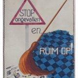 Affiche 'Stop ongevallen en ruim op', no. 28