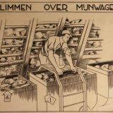 Instructietekening 'Klimmen over mijnwagen'