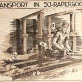 Instructietekening 'Transport in Schrapergoot'