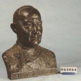 Bronzen buste van dr. A.H. Vossenaar
