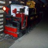 Elektrische rijdraad locomotief gebruikt in de Oranje Nassau I