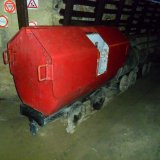 Bluswagen voor het blussen van ondergrondse branden