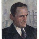 George Tielens. Portret van mijningenieur Antoon Bergstein, 1946