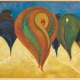 Fourrures, olieverf op karton. 1929 Pierre Kemp, Bonnefantenmuseum