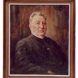 L. Rulkens, Portret van Mgr. Dr. H.A. Poels (1930) olieverf op doek (Collectie Continium Kerkrade)