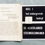 Filmstrookje en tekstboek over het ondergronds bedrijf