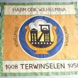 Vlag en vlaggenstok Harmonieorkest Staatsmijn Wilhelmina (1958)