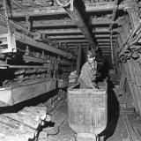 Ondergrondse opnamen in de Domaniale mijn 1969