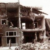 Gebombardeerd woonhuis