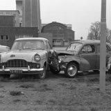 Ongeval op een parkeerterrein