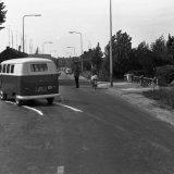 Remsporen van een VW bus