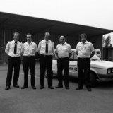 Groepsfoto Dienst Bedrijfsbeveiliging