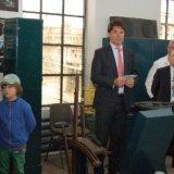 Burgemeester Depla van Heerlen houdt een toespraak