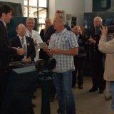 Burgemeester Depla overhandigt prijs aan Marcel Bouten