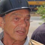 Manfred Haffkamp in mijnwerkerskledij