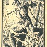 Affiche jublileum Willem-Sophia 1948. Collectie Continium