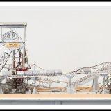 Miniatuurmijn van Harry Hendriks, installaties bovengronds