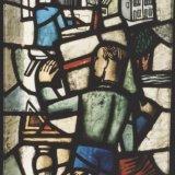 Glas-in-loodraam 'Ons Limburg', Detail het ontwerpen