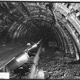 Transportband ondergrondse steengang