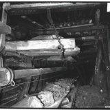 Transportband voor kolenvervoer ondergronds