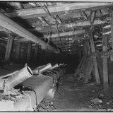 Transportband kolenvervoer ondergronds