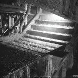 Het scheiden van kolen en steen in de kolenwasserij