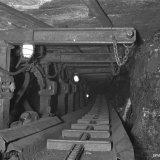 Kettingtransporteur ondergronds