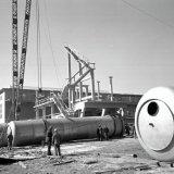 Bouw Salpeterzuurfabriek 1