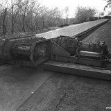 Dubbele kettingtransporteur bestemd voor ondergronds