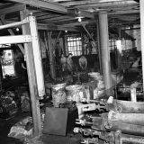Oude werkplaats op de Staatsmijn Maurits