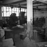 Werkplaats op de Staatsmijn Maurits