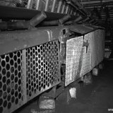 Grote transportbandmachine ondergronds Staatsmijn Maurits