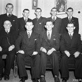 Vader Hendriks met 8 zonen