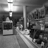 Interieur van de Mijnwinkel van het FvSI in Treebeek