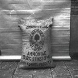 Zak gevuld met kunstmest (Zwavelzure Ammoniak) Stikstofbindingsbedrijf