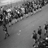 Optocht 50-jarig jubileum rayon Staatsmijn Emma