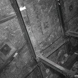 Afvoerband galerij in een steengang van de Staatsmijn Maurits