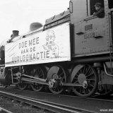 Uurloonactie ten behoeve van vluchtelingen bij het Spoorweg Bedrijf