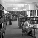 Leeszaal Bibliotheek Centraal Laboratorium