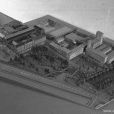 Maquette gebouwen Staatsmijn Emma