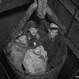 Afdiepen Schacht 4 ondergronds Staatsmijn Hendrik