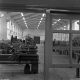 Nieuwe werkplaats van de Technische Vakschool op de Staatsmijn Hendrik
