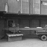 Beumer auto-belaadband bij de Nitraatfabriek op het SBB