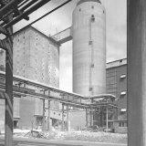 Priltoren Nitraatfabriek in aanbouw
